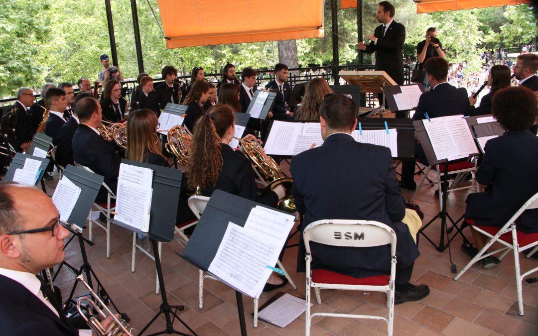 La banda del Casino Musical de Godella protagonitza un concert per al record en el Retiro de Madrid