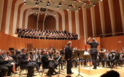 El Palau de les Arts es rendeix a la banda del Casino Musical en el concert del seu bicentenari