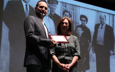 La banda del Casino rep el premi Cultural de l'associació de comerciants de Godella