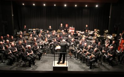 La Banda Municipal de València ompli el Capitolio en la celebració del bicentenari del Casino