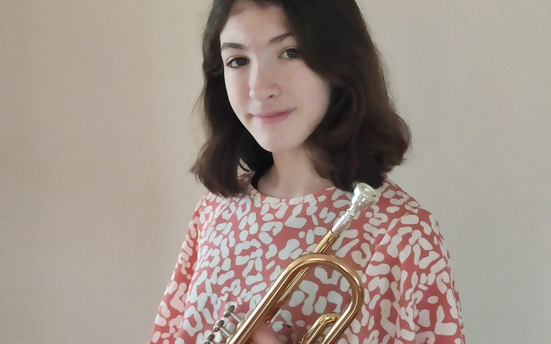 Jade Martín, guanyadora dels VI Premis 'Enric Cullell' de l'escola de música de Godella