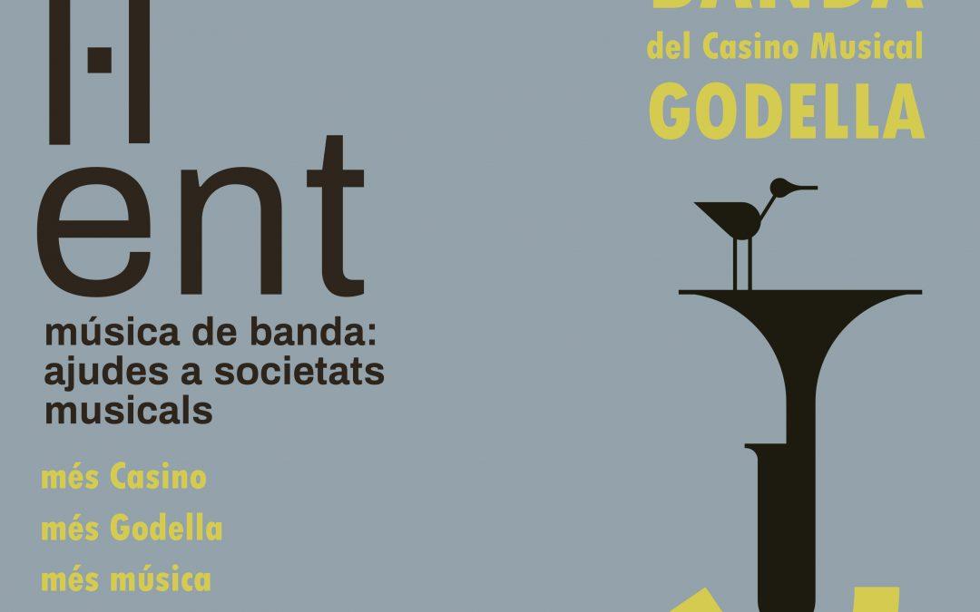 Torna la banda de Godella! En concert, el proper dissabte 18 de juliol
