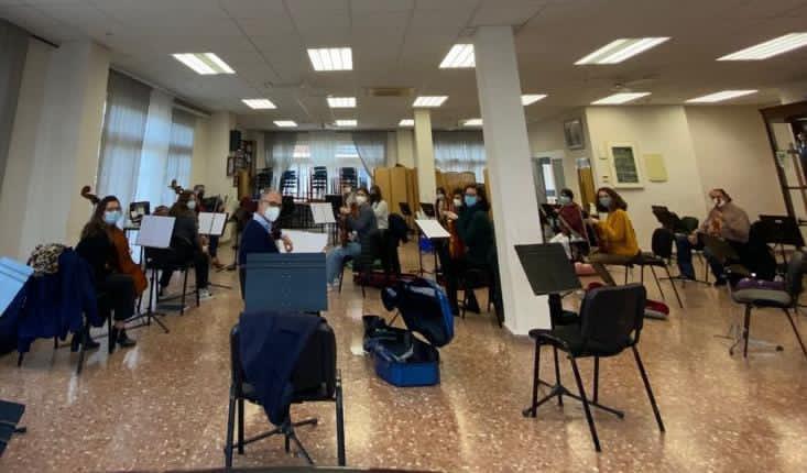 L'Orquestra del Casino prepara el seu concert del 10 d'abril dins del cicle 'Música a la llum'