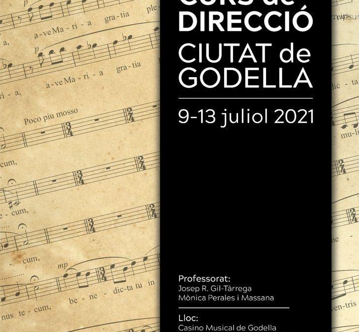 Del 9 al 13 de juliol, Josep R. Gil-Tàrrega i Mònica Perales impartiran el VIII curs de direcció Ciutat de Godella