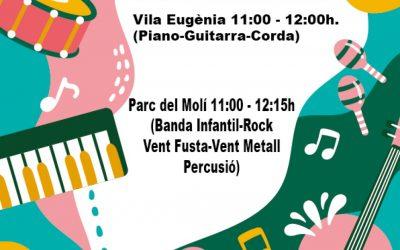 Audicions fi de curs de l'Escola de Música del Casino Musical de Godella del día 12 de juny